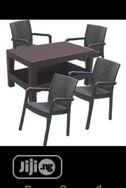 Quality Cane Plastic Chair With 4 Seaters | Furniture for sale in Lagos State, Ajah