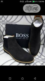 Exclusive Men's Hugo Boss Suede Boots | Shoes for sale in Lagos State, Surulere