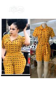 Female Polka Dot Playsuit | Clothing for sale in Lagos State, Ikeja