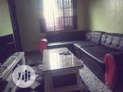 7 Seaters L Shape Leather Sofas With Single For Living Room | Furniture for sale in Delta State, Oshimili South