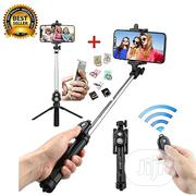 Amazing Tripod Bluetooth Remote Controller Selfie Stick | Accessories for Mobile Phones & Tablets for sale in Lagos State, Surulere