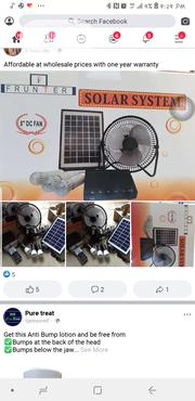 Solar Lights and Fan   Solar Energy for sale in Lagos State, Ojo