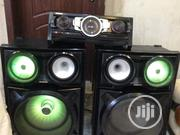 Fairly Used Giga Sound System , Ideal For In And Outdoor   Audio & Music Equipment for sale in Abuja (FCT) State, Lugbe District