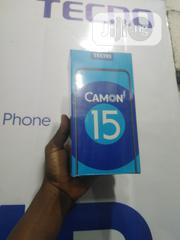 New Tecno Camon 15 64 GB Black | Mobile Phones for sale in Lagos State, Ikeja