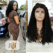 22 Inches Jerry Curl Frontal Wig | Hair Beauty for sale in Lagos State, Kosofe
