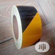 Adhesive Reflective Tape Black And Yellow | Safety Equipment for sale in Lagos State, Lagos Island