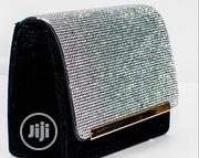 Black And Silver Clutch | Bags for sale in Lagos State, Ojodu