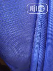 Blue Cotton Senator Fabric Material X2 Free Cufflink | Clothing for sale in Lagos State, Ikoyi