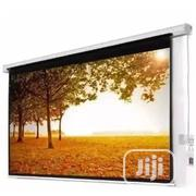 "120"" X 120"" Electric / Motorised Projector Screen (10 FEET) 