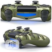 Dualshock 4 Controller - Playstation 4 Green Camouflage Edition | Accessories & Supplies for Electronics for sale in Lagos State, Ikeja