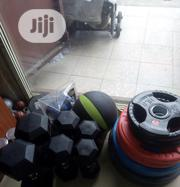 Olympic Dumbell Plate Available For 1400per Kg | Sports Equipment for sale in Abuja (FCT) State, Karmo