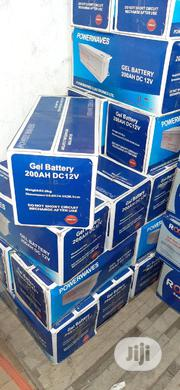 200ah 12v Deep Cycle Battery With 1 Year Warranty Power Wave | Solar Energy for sale in Anambra State, Onitsha
