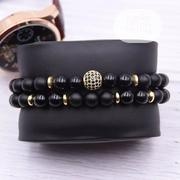 Black Beaded Bracelets | Jewelry for sale in Lagos State, Yaba