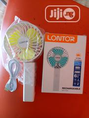 Rechargeable Mini Fan Lontor   Home Appliances for sale in Lagos State, Ajah