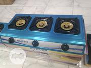 Polystar 3 Burner Table Gas Cooker With Stainless Steel Top Pv-8318g | Kitchen Appliances for sale in Lagos State, Ikeja