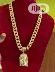 Original Pure Gold Chain And Pendat   Jewelry for sale in Lagos State, Surulere