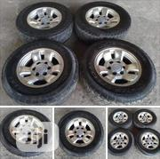 4 Grade 1 Almost New Fairly Used Toyota Hilux Continental Tyres | Vehicle Parts & Accessories for sale in Abuja (FCT) State, Kubwa