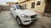 Mercedes-Benz M Class 2014 White   Cars for sale in Lagos State, Ifako-Ijaiye