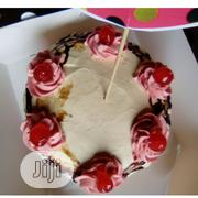 Delicious Chocolate And Vanilla Drip Birthday Cake | Meals & Drinks for sale in Lagos State, Ipaja
