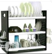 Non Rusty 3 Tiers Durable Plate Rack | Kitchen & Dining for sale in Lagos State, Gbagada