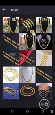 18k Golden Quality Nakelace and Bracelet | Jewelry for sale in Osun State, Ede