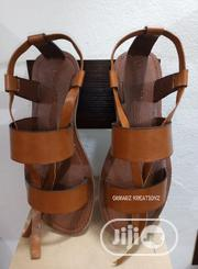 Handmade Two-Strap Gladiator Sandals | Shoes for sale in Abuja (FCT) State, Karu