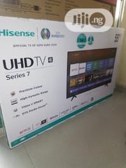 """Hisense 55"""" 4k Smart Netflix Television With Two Years Warranty.   TV & DVD Equipment for sale in Lagos State, Ojo"""