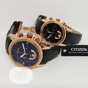 Top Quality Citizen Leather Couple Wrist Watch   Watches for sale in Lagos State, Magodo