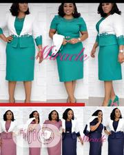 Female Short Office Gown | Clothing for sale in Lagos State, Magodo