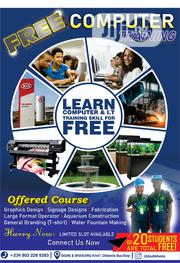 Free Computer Training   Computer & IT Services for sale in Lagos State, Ajah