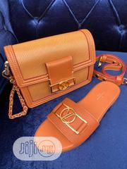 Louis Vuitton Bag and Slippers | Shoes for sale in Lagos State, Victoria Island