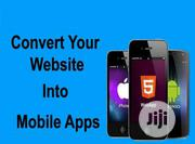 Covert Your Website to Mobile App   Computer & IT Services for sale in Rivers State, Port-Harcourt