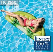 Intex Giant Inflatable 70 Inch Kiwi Slice Mat Swimming Pool Float | Sports Equipment for sale in Lagos State, Amuwo-Odofin