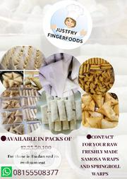 Raw Small Chops,Samosa And Spring Roll   Party, Catering & Event Services for sale in Oyo State, Ibadan