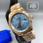 Gold Rolex Watch With Blue Dial   Watches for sale in Lagos State, Agboyi/Ketu