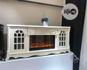 Modern Tv Stand Fire Place. | Furniture for sale in Lagos State, Amuwo-Odofin