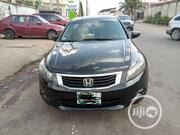 Honda Accord 2008 Black | Cars for sale in Lagos State, Ikeja