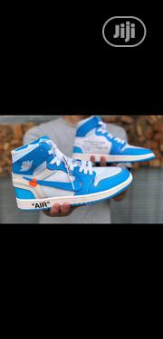 """OFF WHITE X Air Jordan 1 """"UNC 