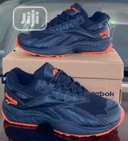 "Reebok Hexalite ""Black-orange Sneakers Original 