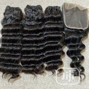Baby Deep Wave Bundles With Closure   Hair Beauty for sale in Lagos State, Alimosho