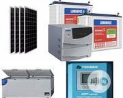 865L Solar Deep Freezer With 1.5kva Complete Solar System   Solar Energy for sale in Lagos State, Oshodi-Isolo