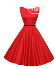 Lasies Quality Red Flare Gown | Clothing for sale in Lagos State, Ikeja