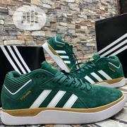 Original Adidas Tyshawn Jones Pro Suede Green and White | Shoes for sale in Lagos State, Lagos Island