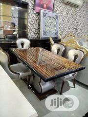 Marble Dining Table With 6 Chairs | Furniture for sale in Lagos State, Ojo