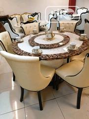 Round Dining Table With 6chairs   Furniture for sale in Lagos State, Ojo