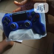 Ps4 Dualshock4 Wireless Controller Blue | Accessories & Supplies for Electronics for sale in Lagos State, Ikeja