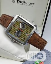 Tagheuer Leather Watch for Men | Watches for sale in Lagos State, Magodo