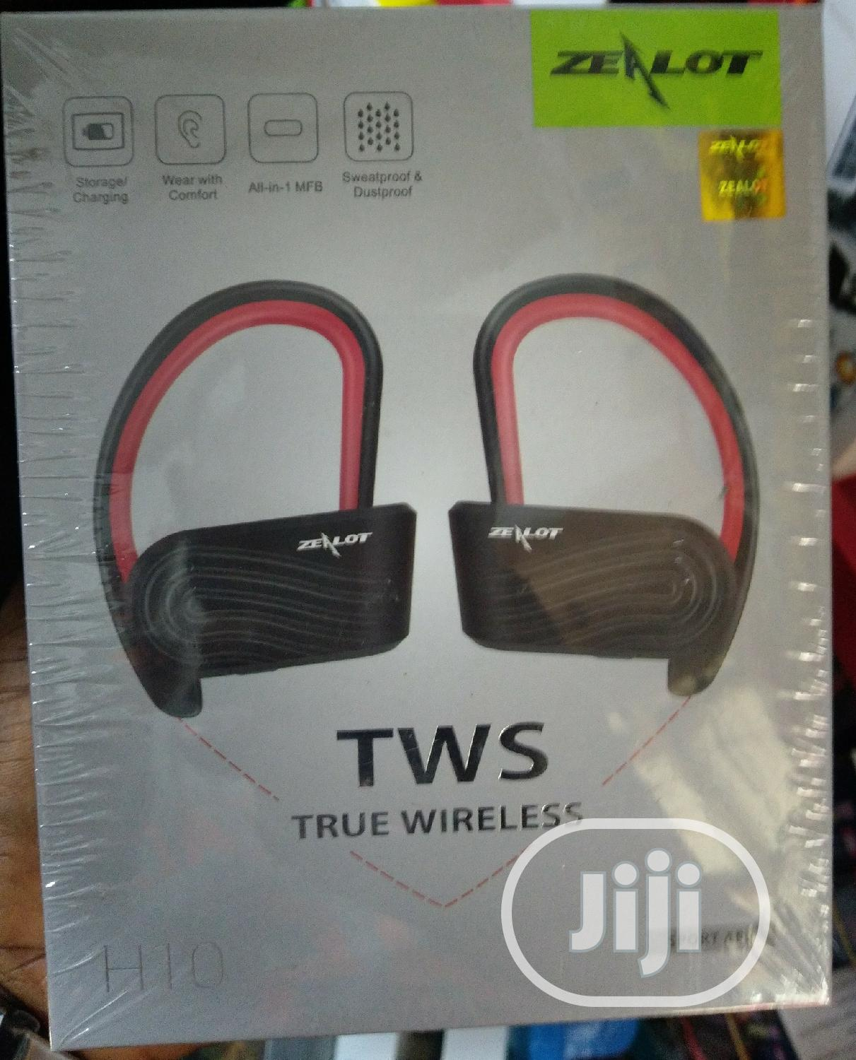 Zealot H10 Tws Wireless Ears Bluetooth | Accessories for Mobile Phones & Tablets for sale in Ojo, Lagos State, Nigeria