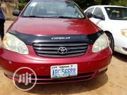 Toyota Corolla 2004 1.4 Red | Cars for sale in Abuja (FCT) State, Gwarinpa