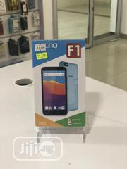 New Tecno F1 8 GB Blue | Mobile Phones for sale in Lagos State, Lekki Phase 1